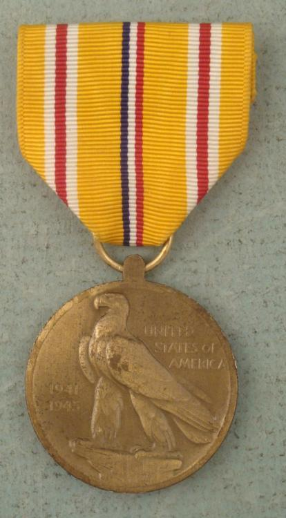 WW II  Asiatic Pacific CampaignMedal