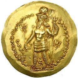 HUNNIC TRIBES. Bahram I Kushanshah, 335-370 AD. EF