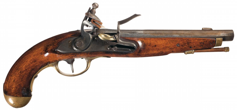 Historical Revolutionary War, State of Pennsylvania Continental Gun Factory  Flintlock Pistol with 5t