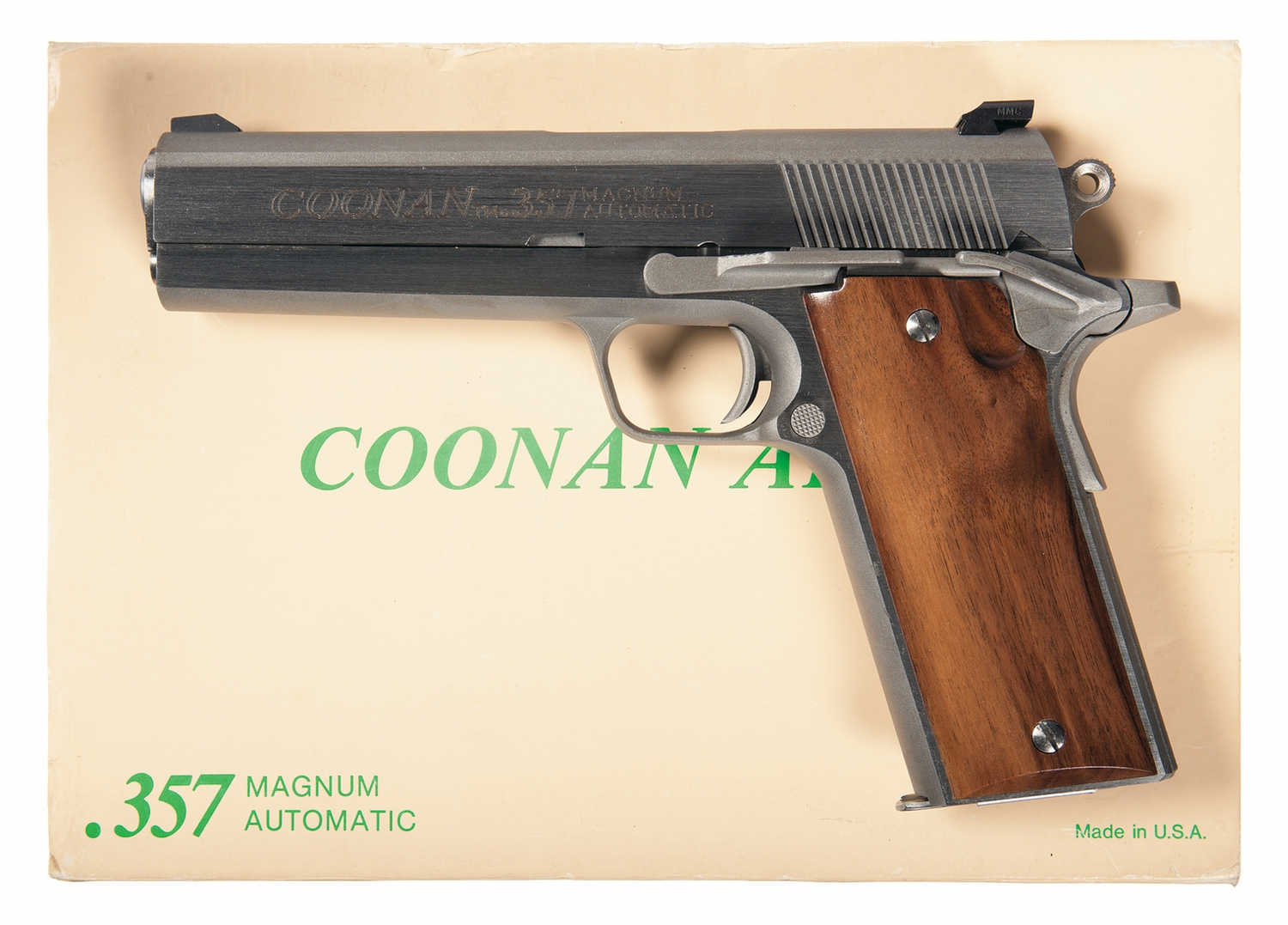 Coonan Arms Company Model B Semi-Automatic Pistol with Box