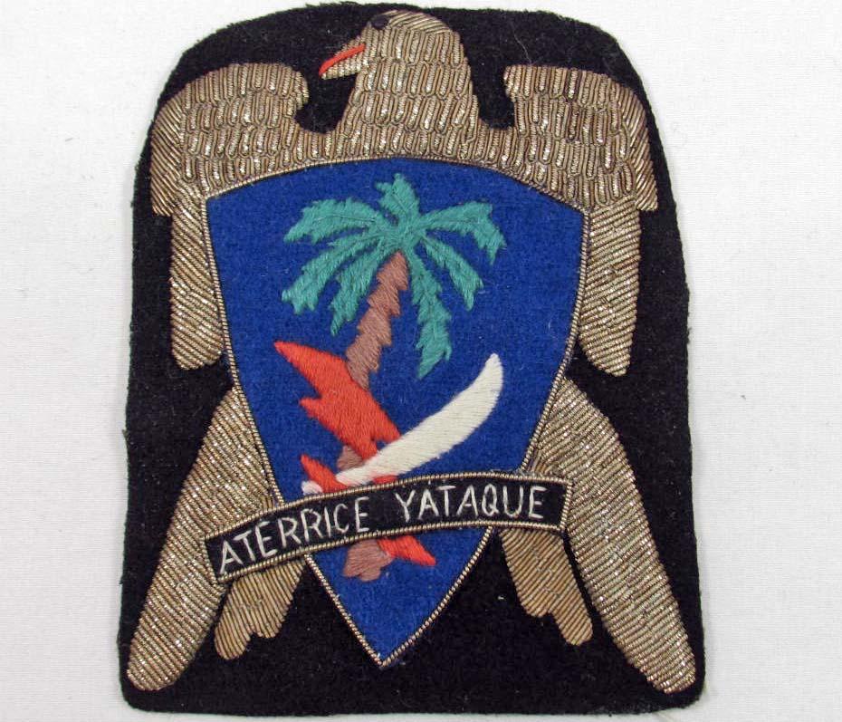 RARE US WW2 ARMY 551ST PARACHUTE INFANTRY REGIMENT COMBAT PATCH