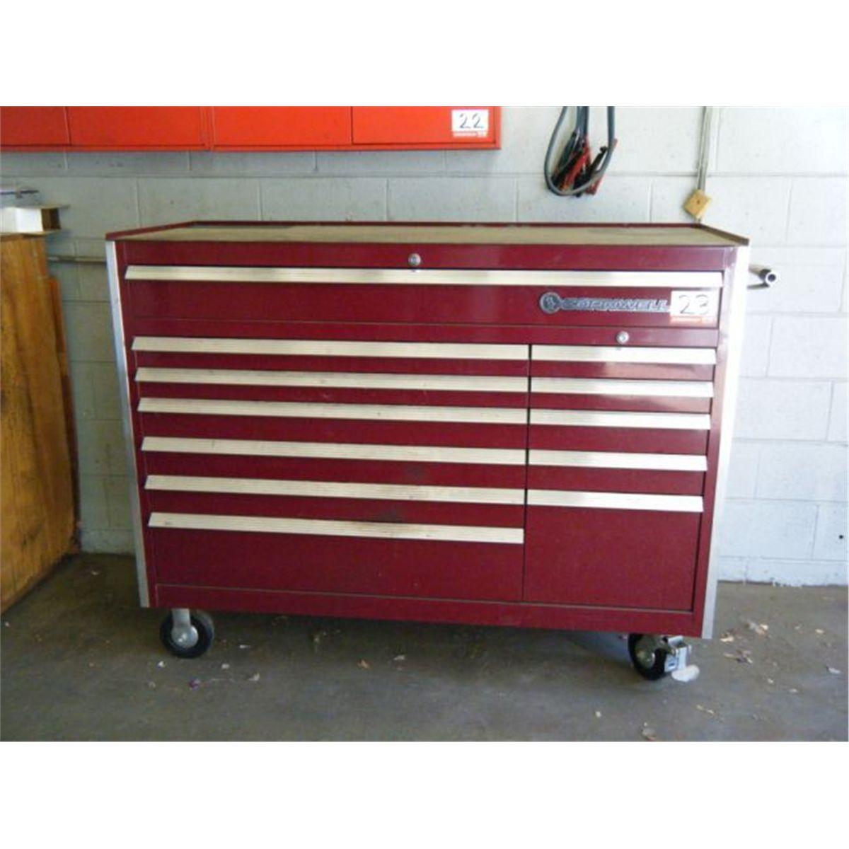 Sell Or Buy A Used Cornwell 84 Custom Series Tool Box