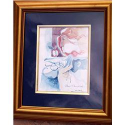 Alvar, Sunol - Original Watercolor hand signed