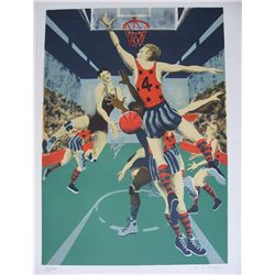 Boyle - SET of 5 - limited edition hand signed/numbered Lithographs