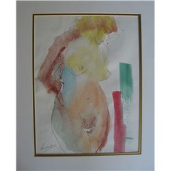 Bergerson, Mark - Original Watercolor Signed