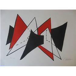 Calder, Alexander - Original lithograph signed and numbered