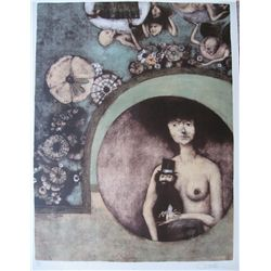Castellon, Federico - Original lithograph hand signed and numbered