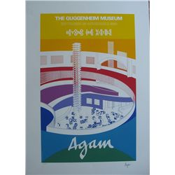 Agam, Yaakov - Original serigraph hand signed and numbered