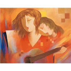 Arbe - Original Giclee on Canvas