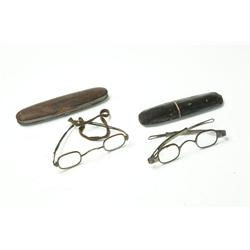 TWO PAIR OF SPECTACLES.