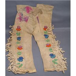 PLAINS BEADED CHILD'S PANTS