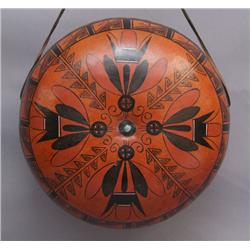 APACHE PAINTED GOURD