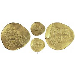 Mexico City, Mexico, cob 8 escudos, 1711J, from the 1715 Fleet.