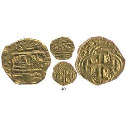 Bogota, Colombia, cob 2 escudos, 1683(G), rare.