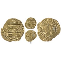Bogota, Colombia, cob 2 escudos, 1687G, rare, from the 1715 Fleet, plate coin in The Practical Book
