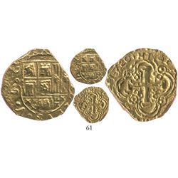 Bogota, Colombia, cob 2 escudos, 1720, ex-Lasser collection and plate coin in The Practical Book of