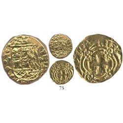 Bogota, Colombia, cob 2 escudos, 1735M.