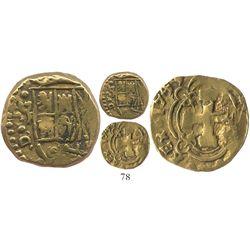 Bogota, Colombia, cob 2 escudos, 1740/39(M).