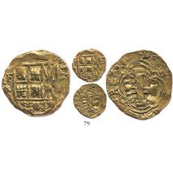 Bogota, Colombia, cob 2 escudos, 1740/39M.