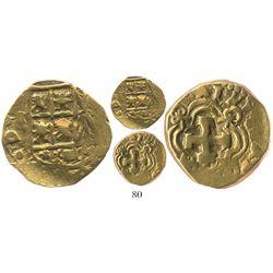 Bogota, Colombia, cob 2 escudos, (17)41(M), retrograde 4, ex-Caballero collection.