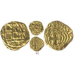 Bogota, Colombia, cob 2 escudos, (1)746(S), Philip V, rare, ex-Lasser collection.