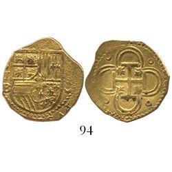 Seville, Spain, cob 2 escudos, (15)95B.