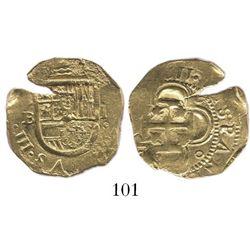Seville, Spain, cob 2 escudos, (16)11B.