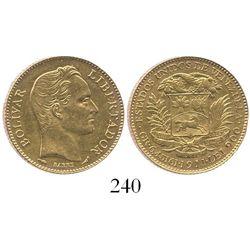 Venezuela, (20 bolivares), 1911.