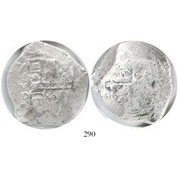 Mexico City, Mexico, cob 8 reales, (16)19/18D, Grade 1.