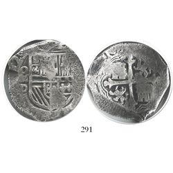 Mexico City, Mexico, cob 8 reales, (1)620D, Grade 1.
