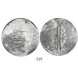 Seville, Spain, cob 8 reales, (1)622(D), Grade 2.