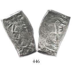 Mexico City, Mexico, cob 4 reales, (171)4(J).
