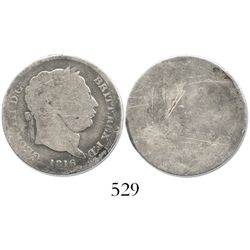 Great Britain, shilling, George III, 1816.