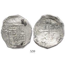 Mexico City, Mexico, cob 8 reales, (16)29D, rare.