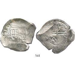 Mexico City, Mexico, cob 8 reales, (1)652/1(P).