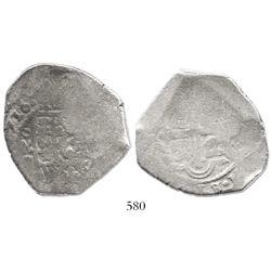 Mexico City, Mexico, cob 8 reales, 1716J, rare.