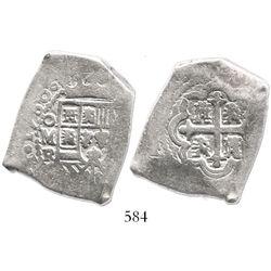 Mexico City, Mexico, cob 8 reales, 1730R, ex-Pullin collection.