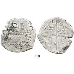 Potosi, Bolivia, cob 8 reales, 1632(T).