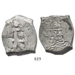 Potosi, Bolivia, cob 8 reales, 1758(q).
