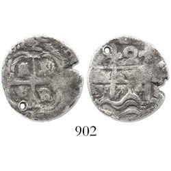 Potosi, Bolivia, cob 2 reales, 1714Y.