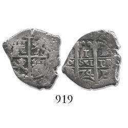 Potosi, Bolivia, cob 1 real, 1674E.