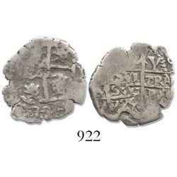 Potosi, Bolivia, cob 1 real, 1725Y, (Louis I).