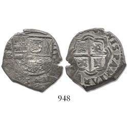 Madrid, Spain, cob 4 reales, 164(?)B.