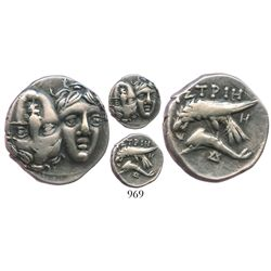 MOESIA, Istros. Ca. 400 BC. AR stater.