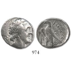 PTOLEMAIC KINGS of EGYPT. Ptolemy II Philadelphos. 285-246 BC. AR tetradrachm. Tyre mint. Struck ca.