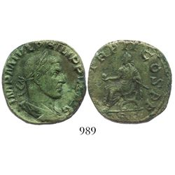 Roman Empire. Philip I (Arabs). 244-249 AD. AE sestertius. Rome mint. Struck 245 AD.