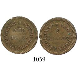 Popayan (Royalist), Colombia, copper 8 reales, 1813.