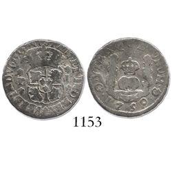 Guatemala, pillar 1 real, Ferdinand VI, 1759J.