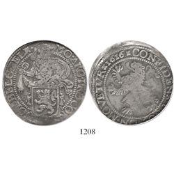 """Zeeland, United Netherlands, """"lion"""" daalder, 1616, encapsulated NGC F 15."""