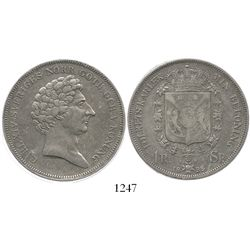 Sweden, 1 riksdaler, Carl XIV Johan, 1838-AG.